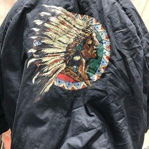 Vintage Polo Ralph Lauren Indian Head Jacket